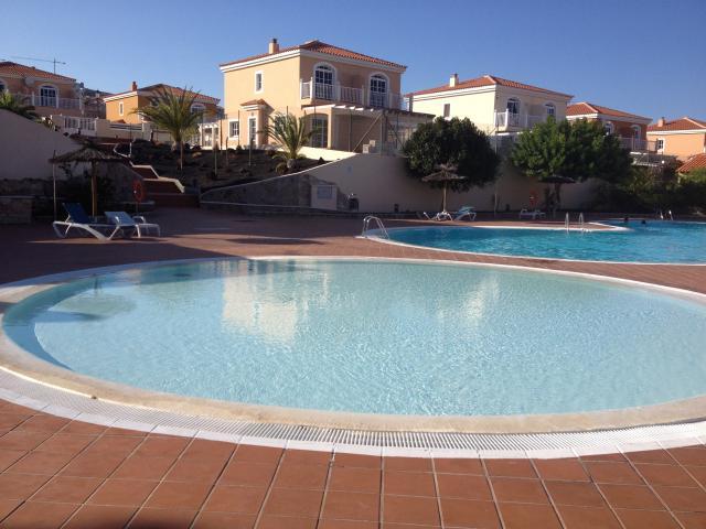 Communal pool  - Tra Bhui , Caleta de Fuste, Fuerteventura