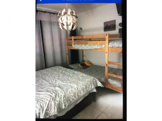 Upstairs bedroom with twin bunkbeds - Castillo Mar , Caleta de Fuste, Fuerteventura