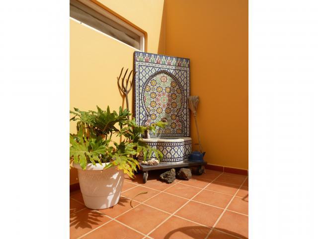patio - Casa Brujas, Lajares, Fuerteventura